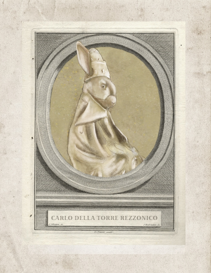 CARLO AS POPE ALONE