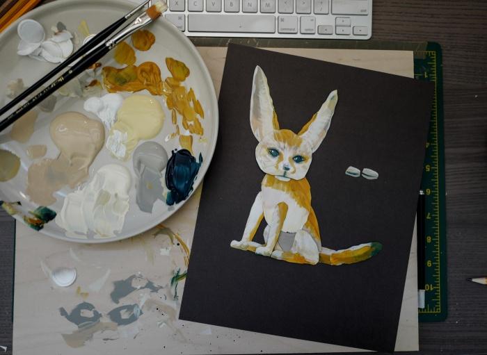 FOX PUPPET-3